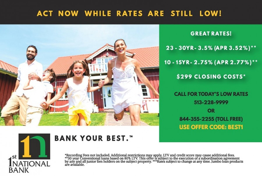 First National Bank 6x9 Direct Mail Piece